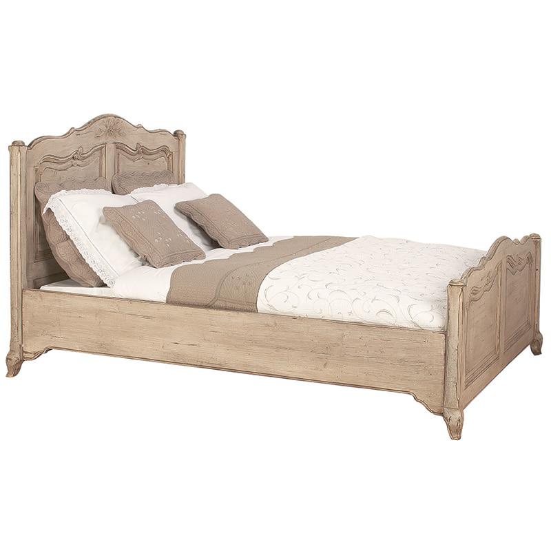 [INT] 원목 침실 프렌치 프로방스 마케트리 킹 침대