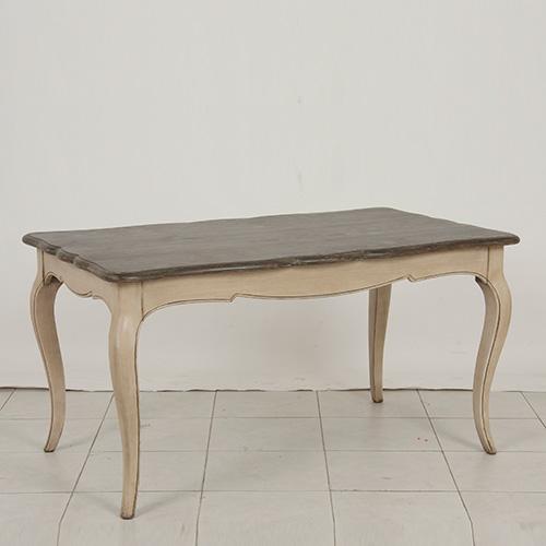 [INT] 원목 주방 프렌치 프로방스 마케트리 1450 4인 식탁
