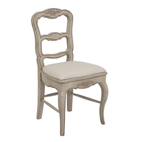 [INT] 원목 주방 프렌치 프로방스 마케트리 식탁 의자