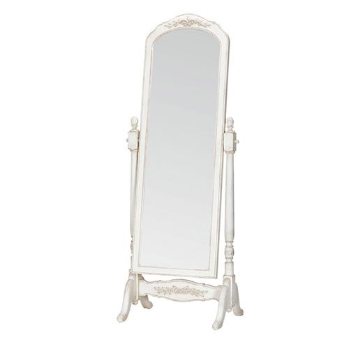 [INT] 원목 침실 프로방스 프렌치 화이트 전신 거울